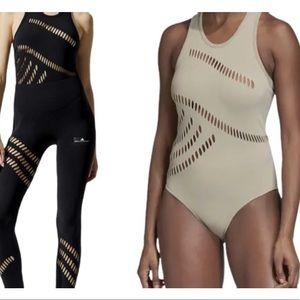 NWT adidas x Stella McCartney Warp Knit Bodysuit